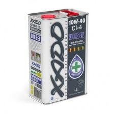 Дизельное масло 10W-40 CI-4 Diesel XADO Atomic Oil, 4л