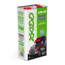 Полусинтетическое масло 10W-40 Diesel Truck XADO Atomic Oil, 5л.