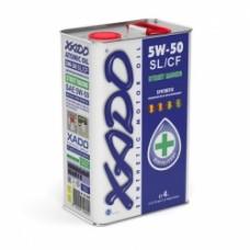 Синтетическое масло 5W-50 SL/CF XADO Atomic Oil 4 л (XA 20207)