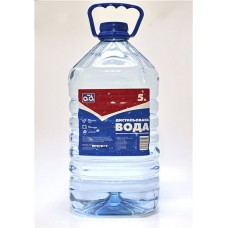 Дистиллированная вода AD 5л.