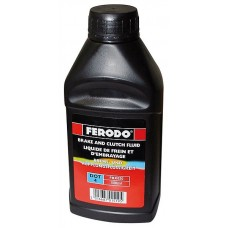 Тормозная жидкость Ferodo DOT 4 0,5л FE FBX050