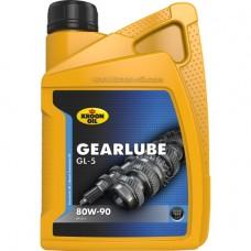 Трансмиссионное масло Kroon oil Gearlube GL-5 80W-90 1л.