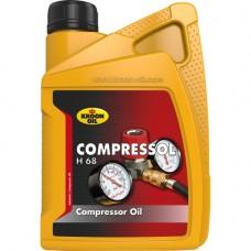 Компрессорное масло Kroon-oil Compressol H 68 1л.