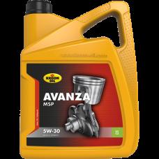 Моторное масло Kroon oil Avanza MSP 5W-30 5л.