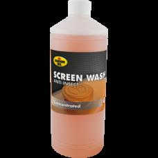Концентрат летней стеклоомывающей жидкости ANTI INSECT SCREENWASH Kroon oil 1л.