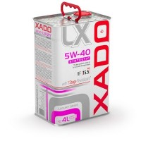 Cинтетическое масло XADO Luxury Drive 5W-40 SYNTHETIC. 4л