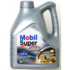 Моторное масло Mobil Super 3000 XE 5W-30, 4л.