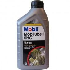 Трансмиссионное масло MOBIL Mobilube 1 SHC 75W-90 1л.