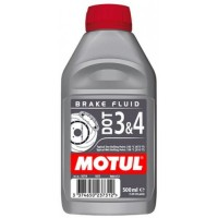 Тормозная жидкость MOTUL DOT 3&4 Brake Fluid 0.5л.