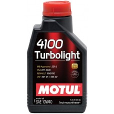 Моторное масло Motul 4100 Turbolight 10W-40 1л.