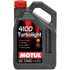 Моторное масло Motul 4100 Turbolight 10W-40 4л.