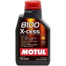 Моторное масло Motul 8100 X-cess 5W-40 1л.