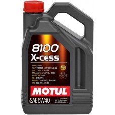 Моторное масло Motul 8100 X-cess 5W-40 4л.