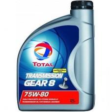 Трансмиссионное масло Total Transmission Gear 8 75W-80 2л.