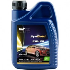 Моторное масло VatOil SynGold 5W-40 1л.