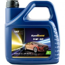 Моторное масло VatOil SynGold 5W-40 4л.