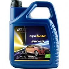 Моторное масло VatOil SynGold 5W-40 5л.