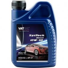 Моторное масло VatOil SynTech Diesel 10W-40 1л.