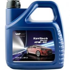 Моторное масло VatOil SynTech Diesel 10W-40 4л.