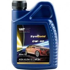 Моторное масло VATOIL SynGold 0W-40 1л.