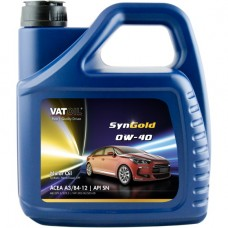 Моторное масло VATOIL SynGold 0W-40 4л.