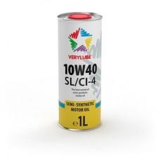 Полусинтетическое масло для легковых и грузовых автомобилей Verylube 10W-40 SL/CI-4.1л