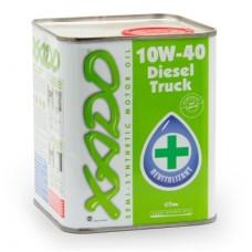 Полусинтетическое масло 10W-40 Diesel Truck XADO Atomic Oil, 1л.