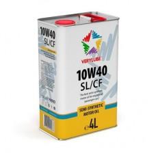 Полусинтетическое масло для легковых и малых грузовых автомобилей Verylube 10W-40 SL/CF. 4л.
